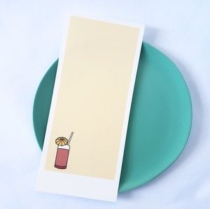 FREE W PURCHASE Tiki Drink Notecard for Giftgiving